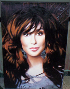 Cher With highlights